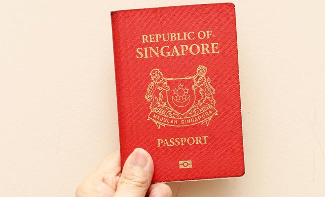 Singapore passport kuchhnaya